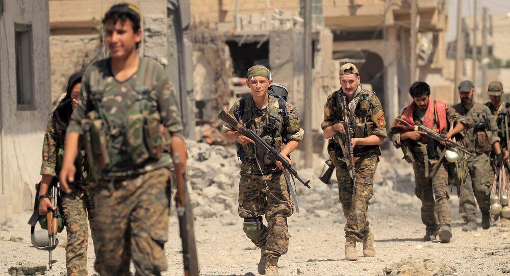 Los miembros de las Fuerzas Democráticas de Siria (FDS) (archivo)