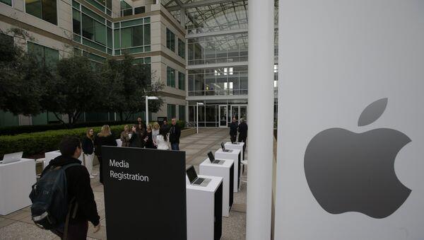 La sede de Apple en EEUU - Sputnik Mundo