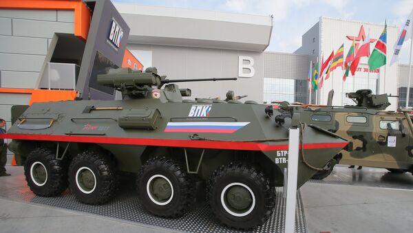 El vehículo blindado BTR-87 - Sputnik Mundo