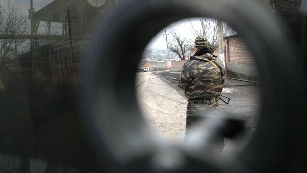 Una operación antiterrorista en Ingusetia (Archivo) - Sputnik Mundo