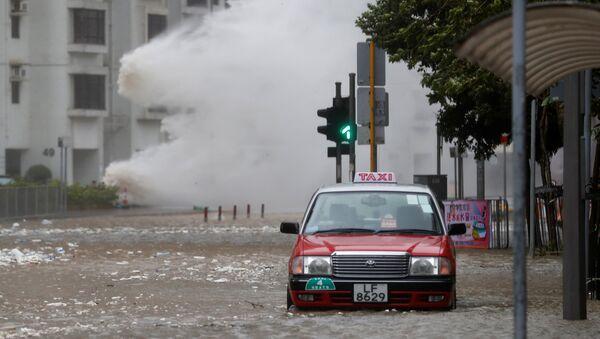 El tifón Hato en Hong Kong - Sputnik Mundo