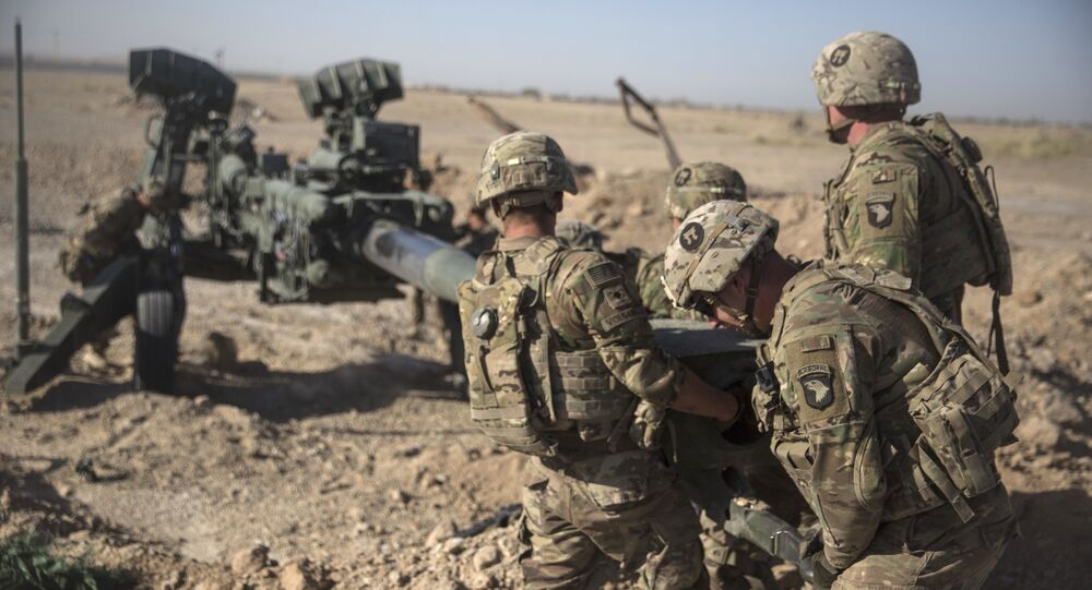 Los soldados estadounidenses en Afganistán (archivo)