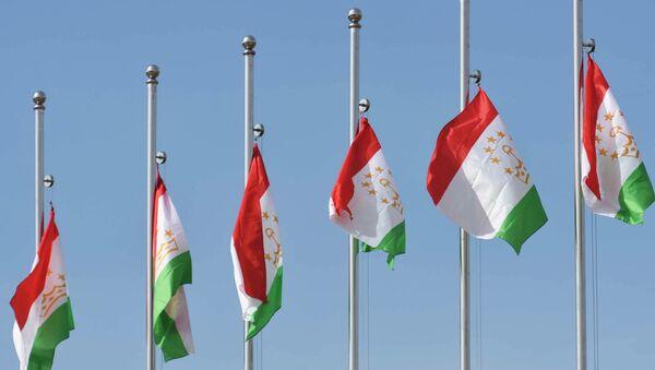 Banderas de Tayikistán - Sputnik Mundo