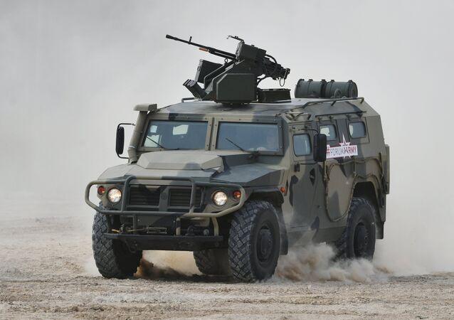 El vehículo blindado Tigr