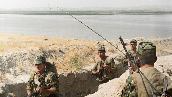 Soldados del Ejército de Tayikistán - Sputnik Mundo