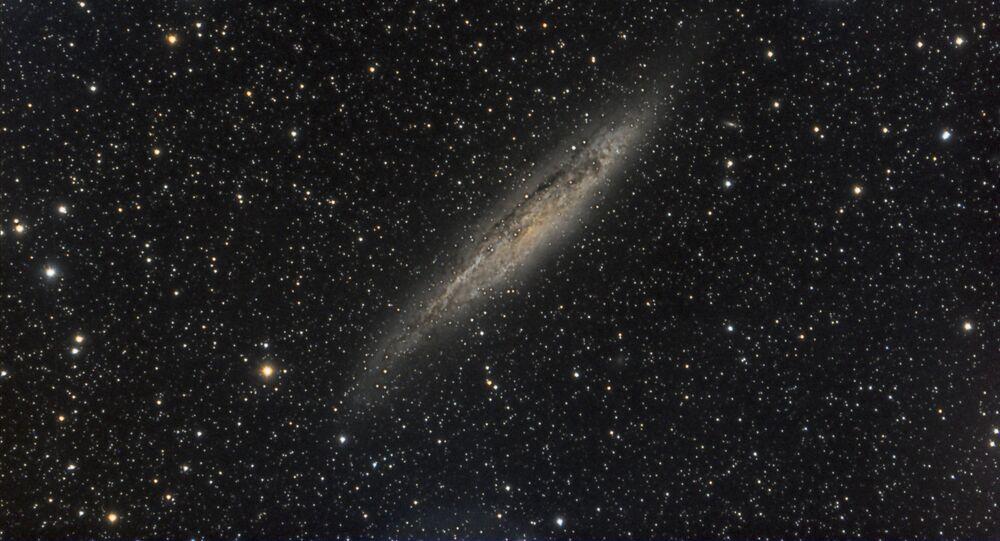 La galaxia NGC 4945