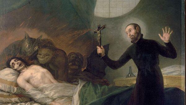 Ritual de exorcismo (imagen referencial) - Sputnik Mundo