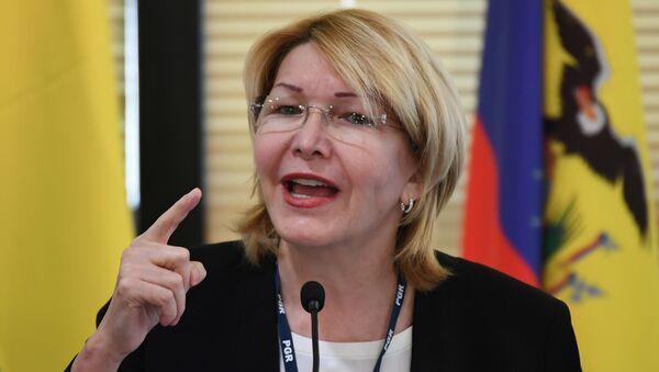 Luisa Ortega, exfiscal venezolana (archivo) - Sputnik Mundo