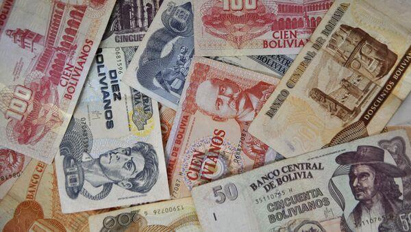 Bolivianos (billetes) - Sputnik Mundo