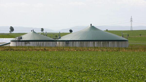 Una planta de biogás - Sputnik Mundo