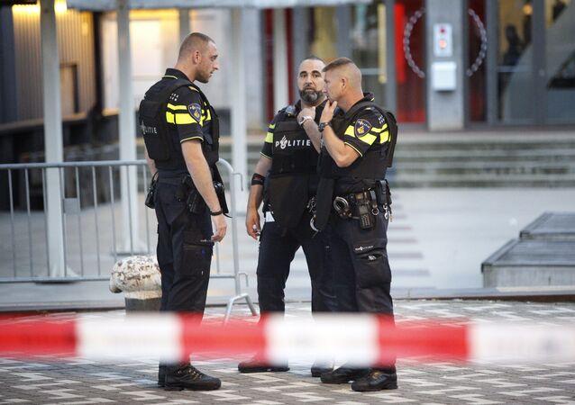 Policías de Rotterdam (Archivo)