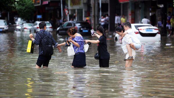 Tifón Hato en China - Sputnik Mundo