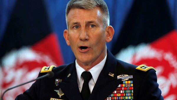 John Nicholson, general estadounidense, comandante de la misión aliada Apoyo Decidido (Resolute Support) en Afganistángeneral estadounidense, comandante de la misión aliada Apoyo Decidido (Resolute Support) en Afganistán - Sputnik Mundo
