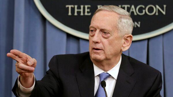 James Mattis, secretario de Defensa de EEUU - Sputnik Mundo