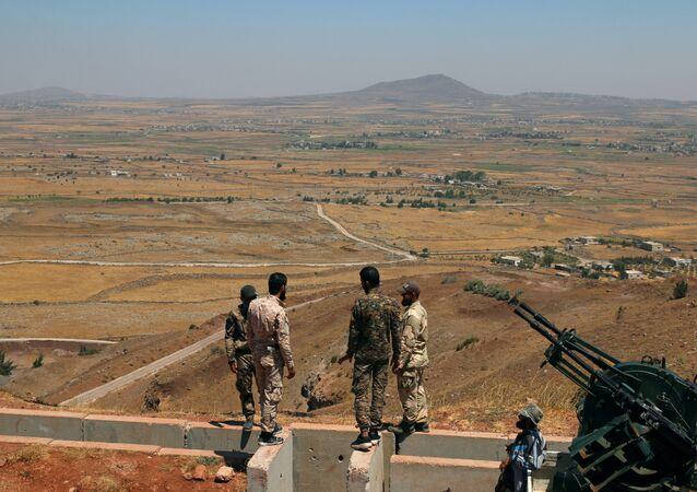 Combatientes del Ejército Libre Sirio (archivo)