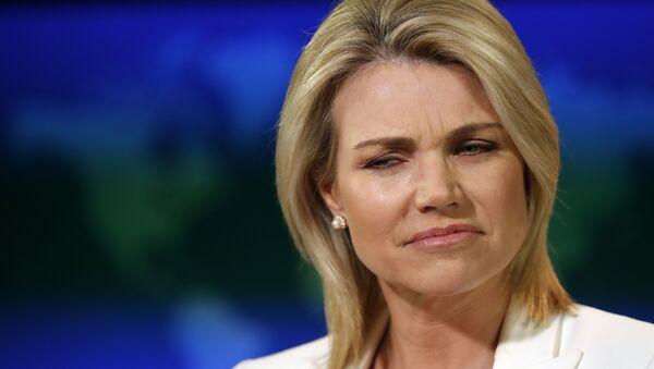 Heather Nauert, portavoz del Departamento de Estado de EEUU - Sputnik Mundo