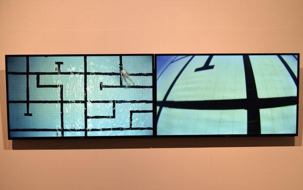Una instalación de Bienalsur en el Museo Nacional de Artes Visuales de Montevideo - Sputnik Mundo
