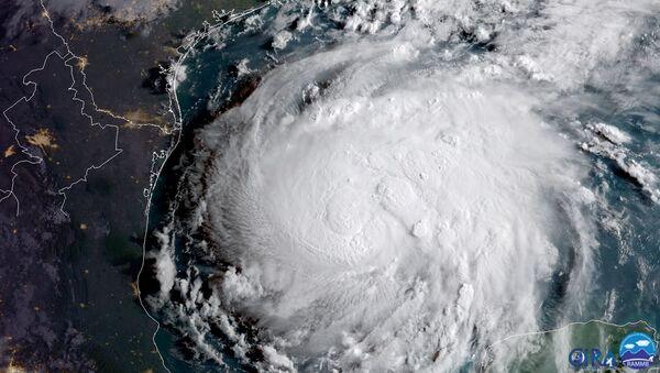 El huracán Harvey - Sputnik Mundo