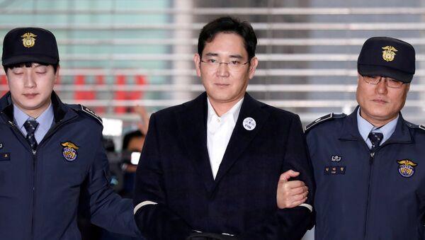 Lee Jae-yong, el vicepresidente de Samsung Electronics - Sputnik Mundo