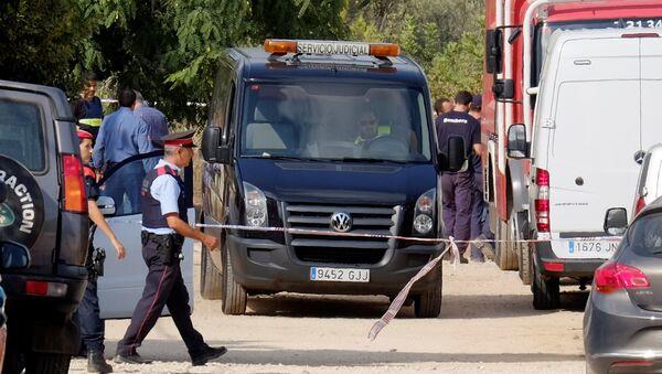 Policía de España en Alcanar - Sputnik Mundo