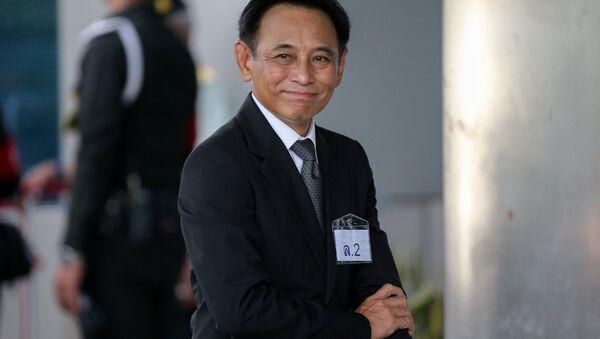 Boonsong Teriyapirom. exministro de Comercio tailandés - Sputnik Mundo