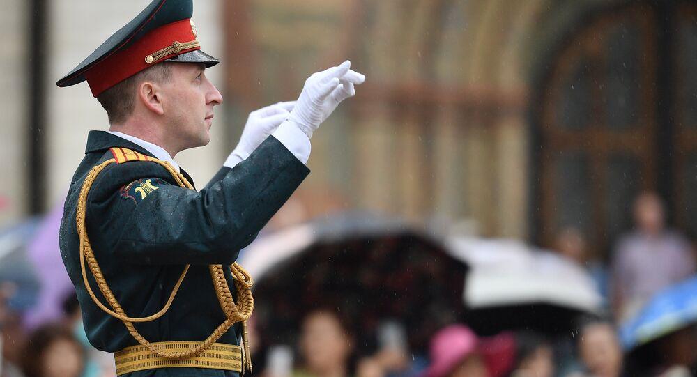 El director de la orquesta del Ministerio de Defensa ruso