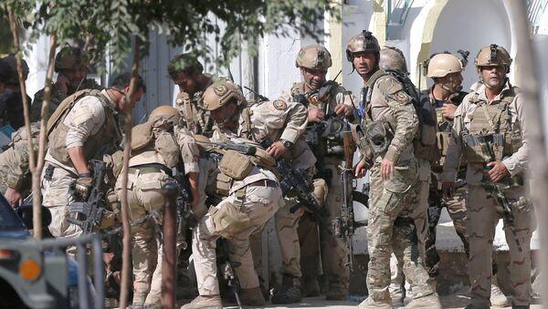 La Policía de Afganistán (archivo) - Sputnik Mundo