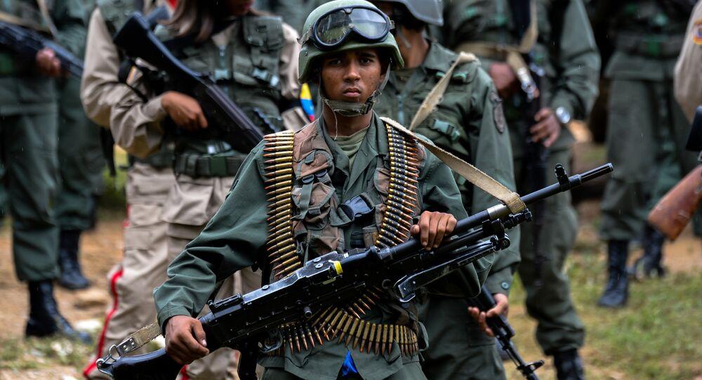 Un soldado venezolano (imagen referencial)