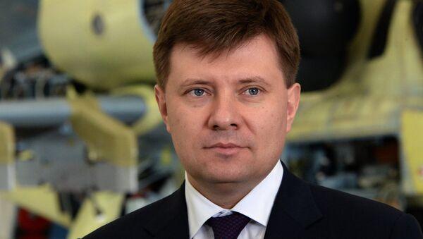 Andréi Boguinski, director general de Russian Helicopters - Sputnik Mundo