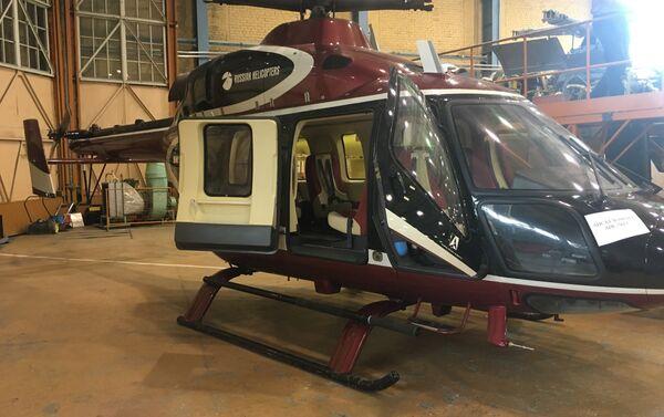 Helicóptero Ansat en la Fábrica de Helicópteros de Kazán - Sputnik Mundo