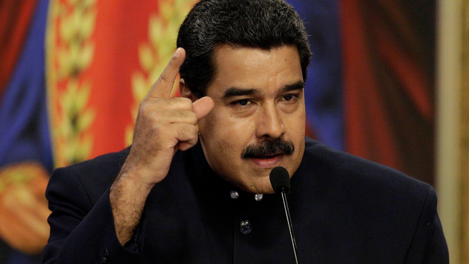 Nicolás Maduro, presidente de Venezuela - Sputnik Mundo, 1920, 07.05.2021
