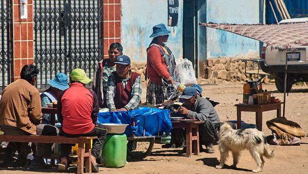 Los bolivianos (imagen referencial) - Sputnik Mundo