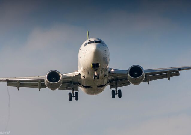 Boeing 737-500 (imagen referencial)