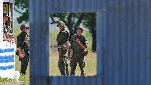 Pacificadores rusos en Transnistria - Sputnik Mundo