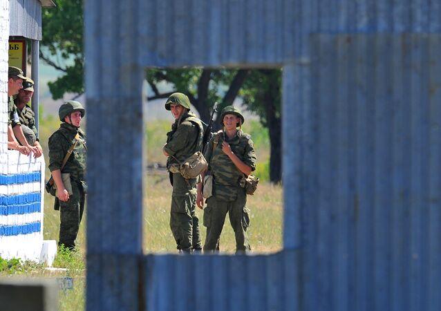 Misión de paz rusa en Transnistria