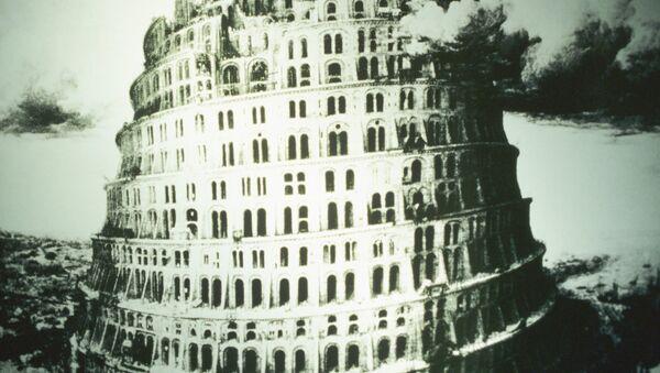 Un cuadro de la Torre de Babel - Sputnik Mundo