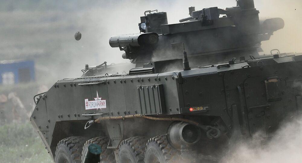 Bumerang, el nuevo vehículo blindado ruso