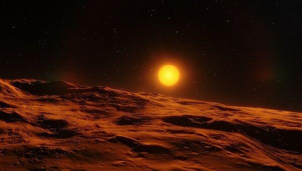 La superficie de un cuerpo celeste - Sputnik Mundo