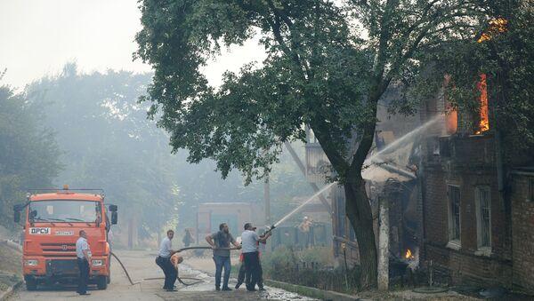 Incendio en la ciudad rusa de Rostov del Don - Sputnik Mundo