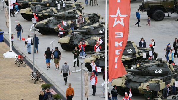 Foro Internacional Militar Army 2017 - Sputnik Mundo
