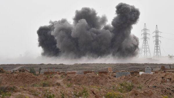Una explosión en Siria (archivo) - Sputnik Mundo