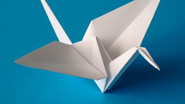 Una grulla de origami - Sputnik Mundo