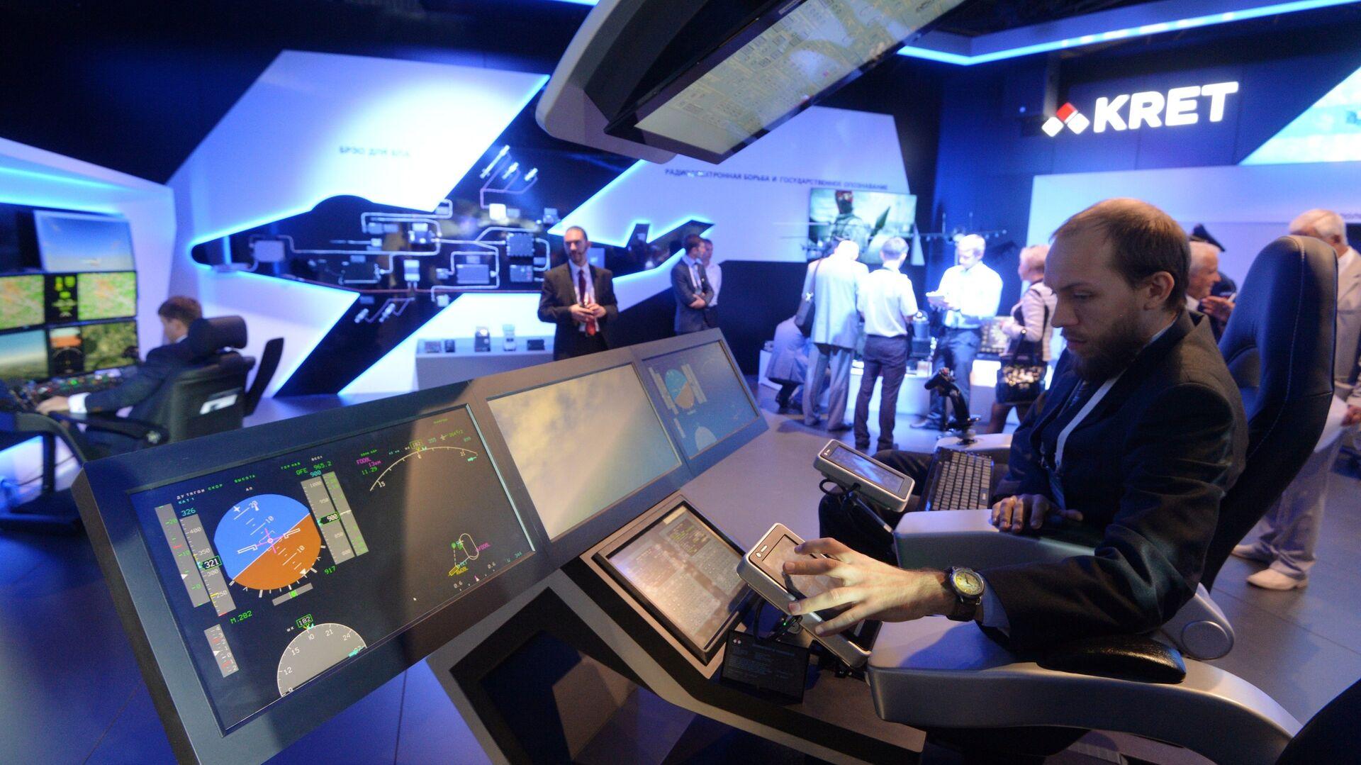 El Consorcio de Tecnologías Radioelectrónicas (KRET) presenta sus sistemas en el Salón Aeroespacial Internacional MAKS - Sputnik Mundo, 1920, 09.07.2021