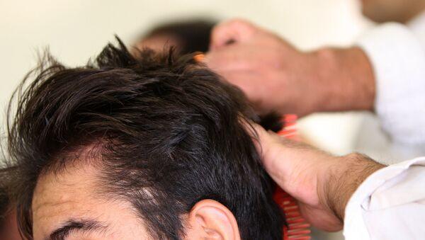 Barber. (File) - Sputnik Mundo