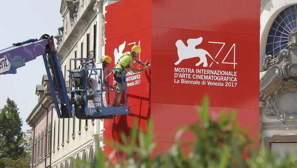 Preparativos para la celebración del Festival de Cine de Venecia - Sputnik Mundo