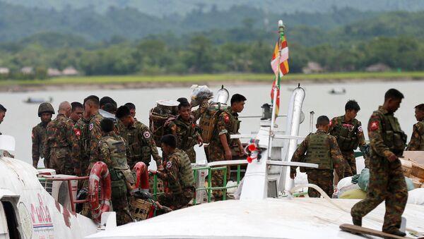 Los militares de Birmania - Sputnik Mundo