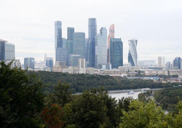 Centro Internacional de Negocios de Moscú (archivo)