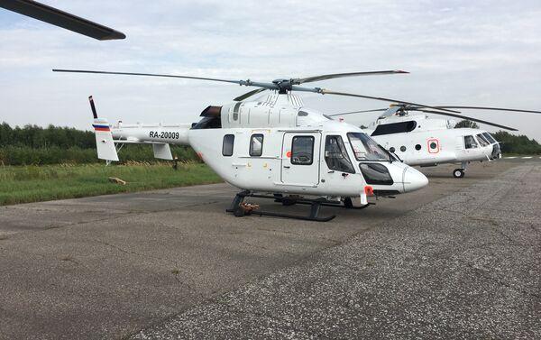 Helicóptero Ansat en la Planta de Kazán - Sputnik Mundo