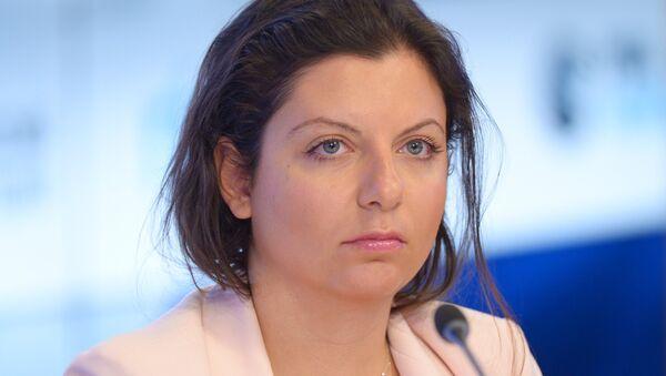 Margarita Simonián, la directora de Sputnik y RT (archivo) - Sputnik Mundo