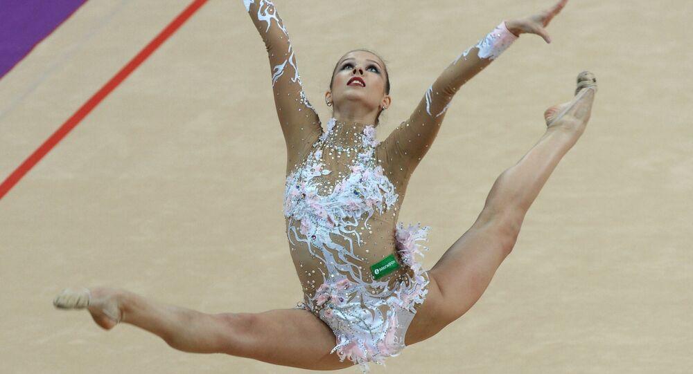 Ekaterina Selezniova, atleta de gimnasia artística rusa (archivo)